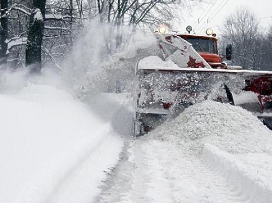 За сутки на полигон Томска САХ вывез 137 тонн снега