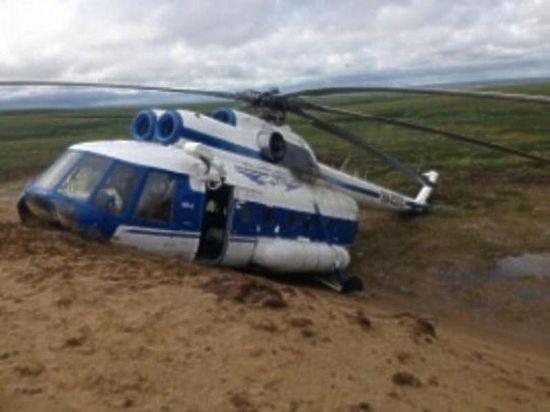 Экипаж назвал вероятные причины жесткой посадки Ми-8 вТомской области