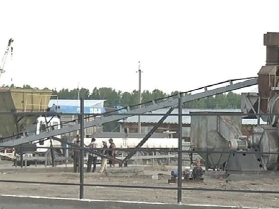Кто без разрешений построил асфальтовый завод в селе Зоркальцево?