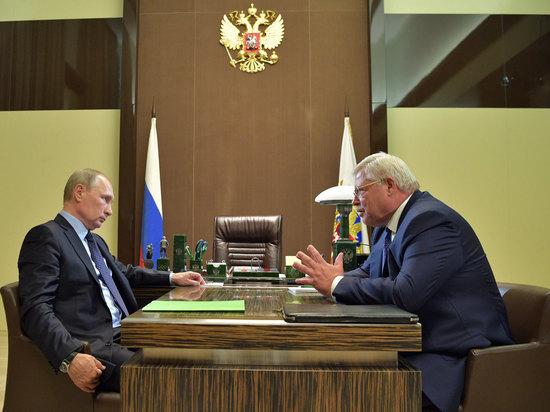 Сергей Жвачкин обратился к Владимиру Путину за поддержкой