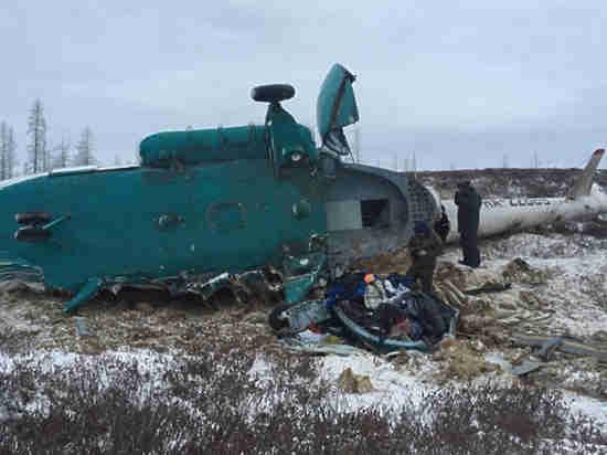 ВТомской области при посадке зажегся вертолет с медсотрудниками